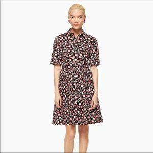 Kate Spade ♠️ casa flora shirtdress